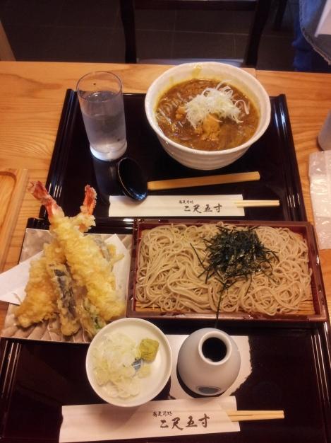 tempura soba Haneda airport